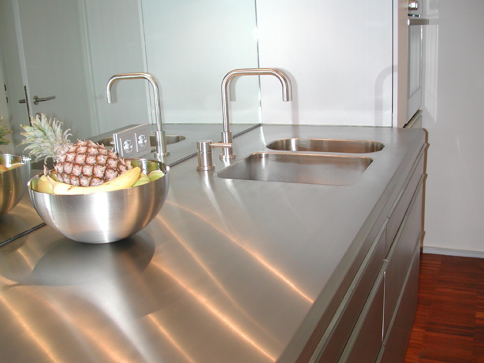 Edelstahl Küchen